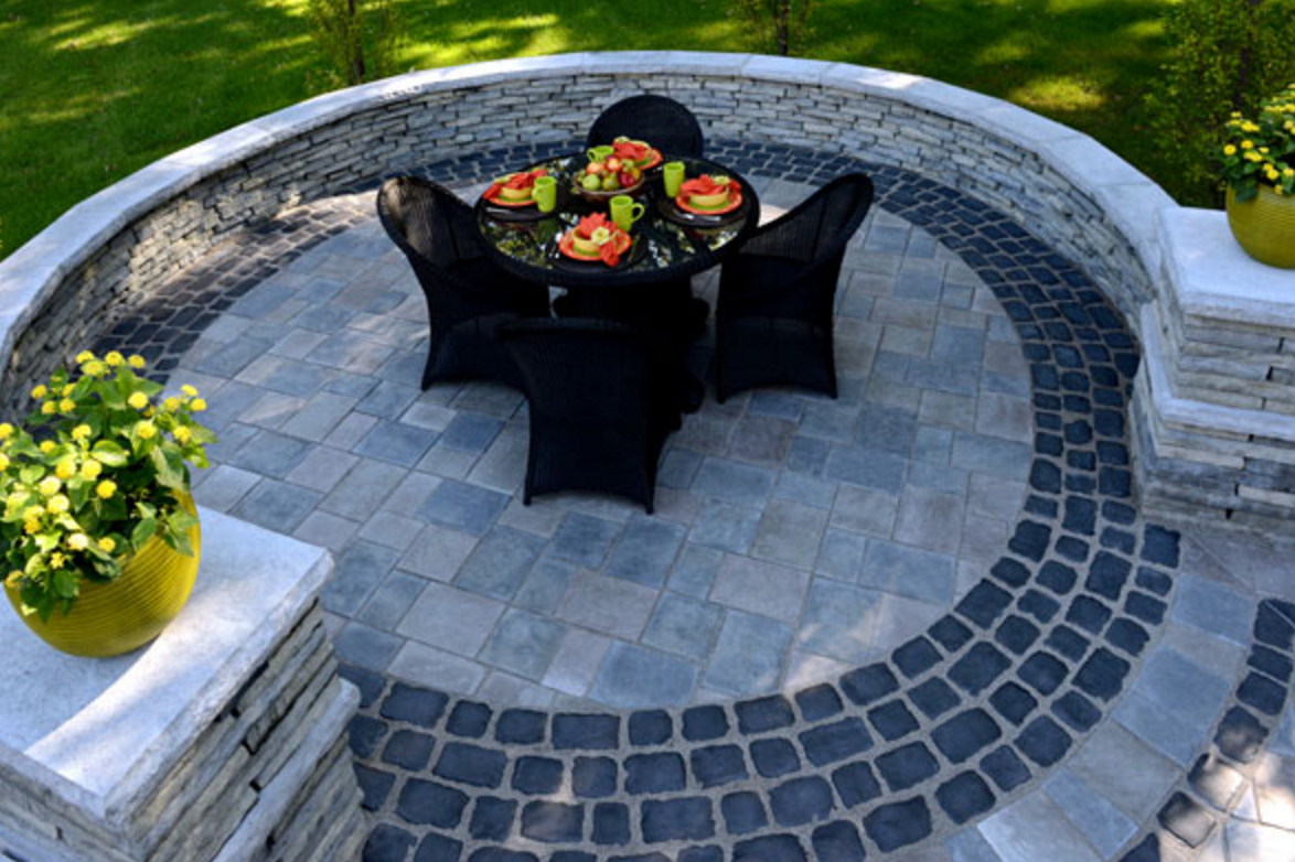 Patio Design Ideas: Creating a special look using paver ...