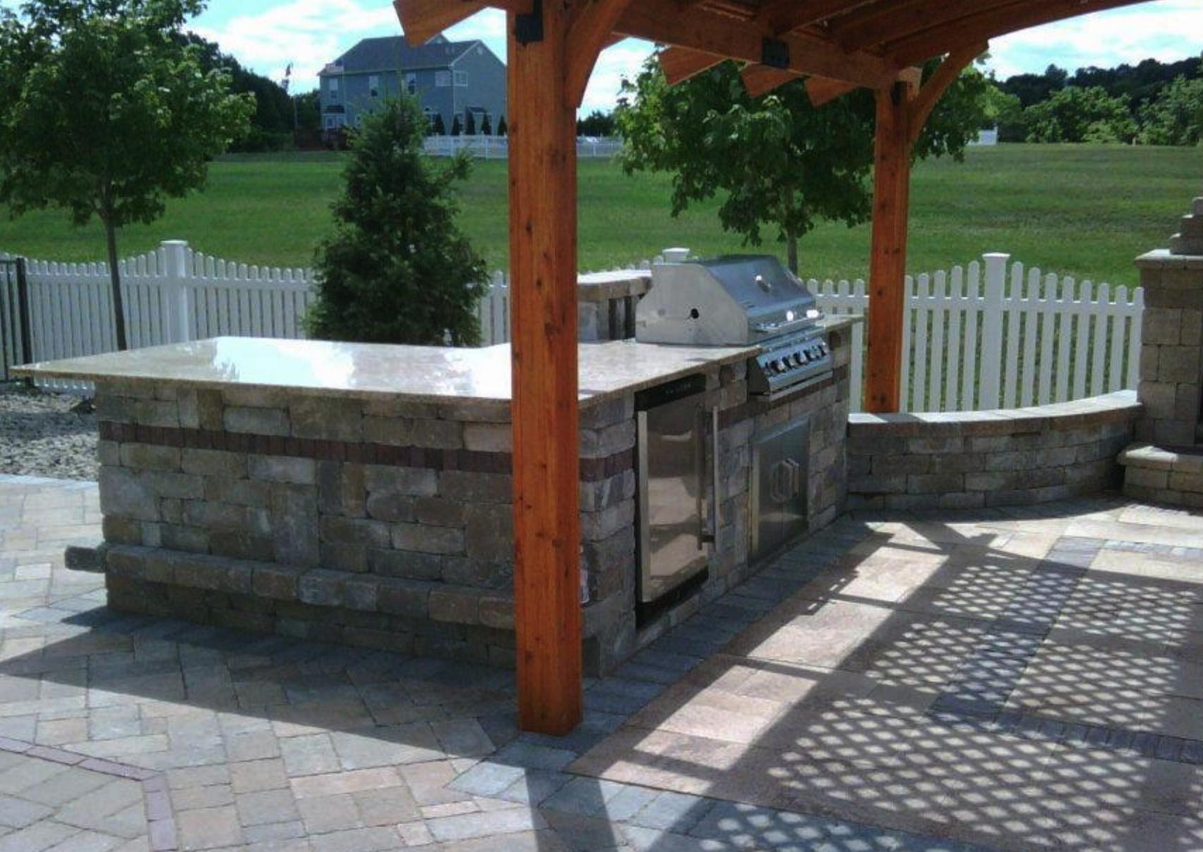 Outdoor Kitchen Design and Installation, Dutchess County, Hudson Valley