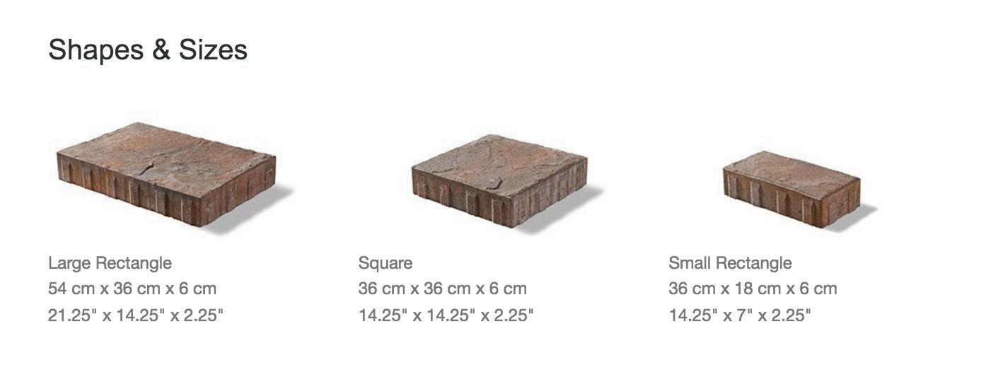 Unilock Beacon Hill Flagstone: Shapes and Sizes. Unilock.com