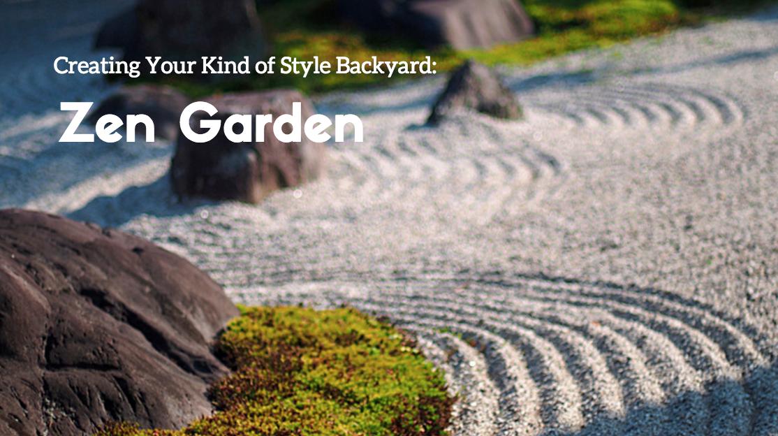 zen garden backyard in wappingers falls ny