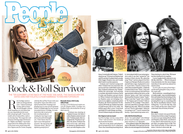 People Magazine Article - Read/Download Article