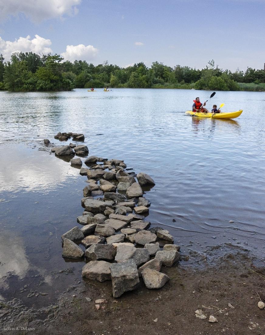Jersey City Reservoir Kayaking, 2013
