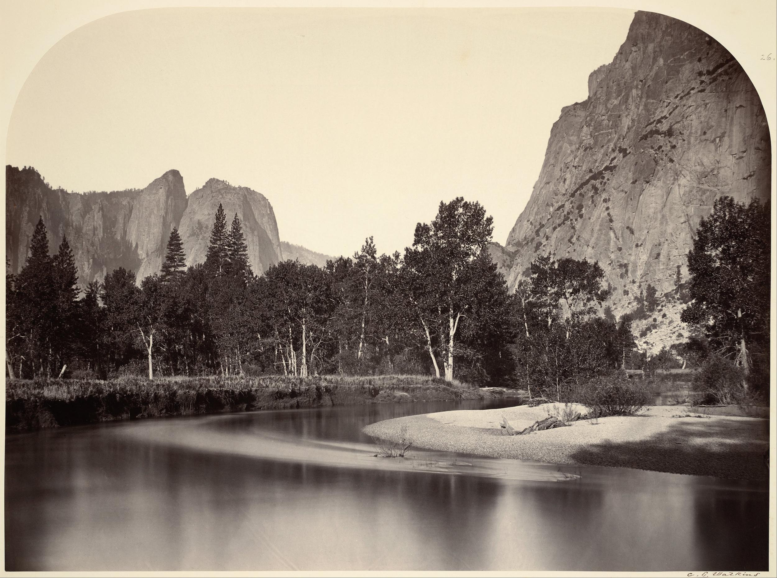 Carleton Watkins: Yosemite, California