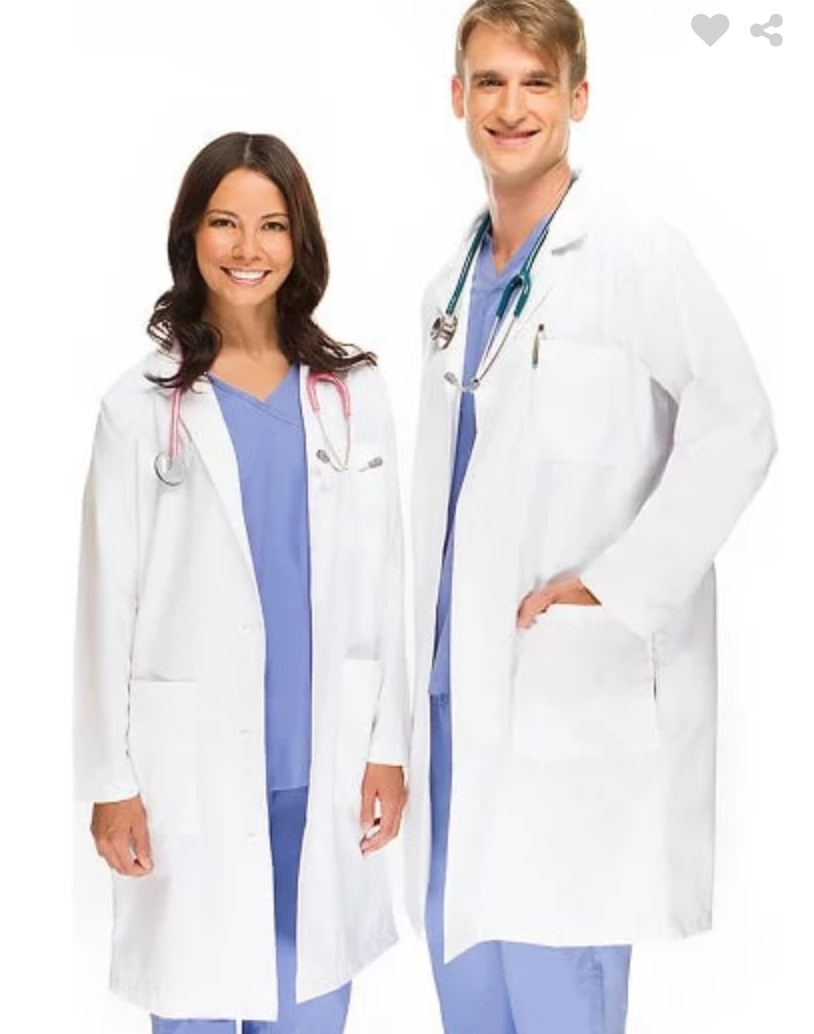 OPTIONAL White Lab Coat  $9.99  (Click on picture to be taken to the store link)