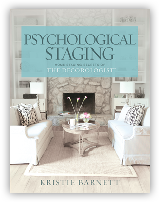 My fireplace finish featured on the cover of The Decorologist's new book.
