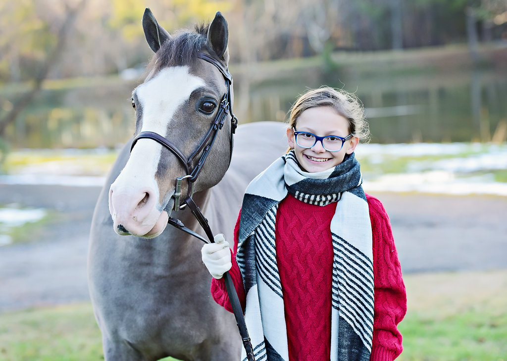 Sarah Carson and Stormy. Photo credits to Heather Swanner.