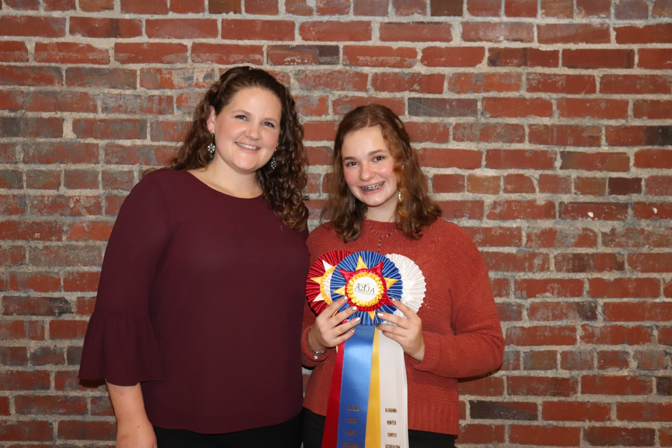 Kate and Dax had a successful show year.