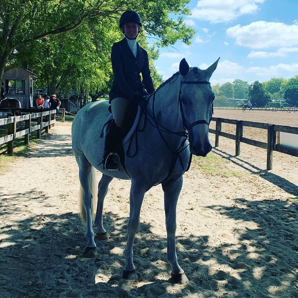 "Sydney and ""Z"" looking show ready."