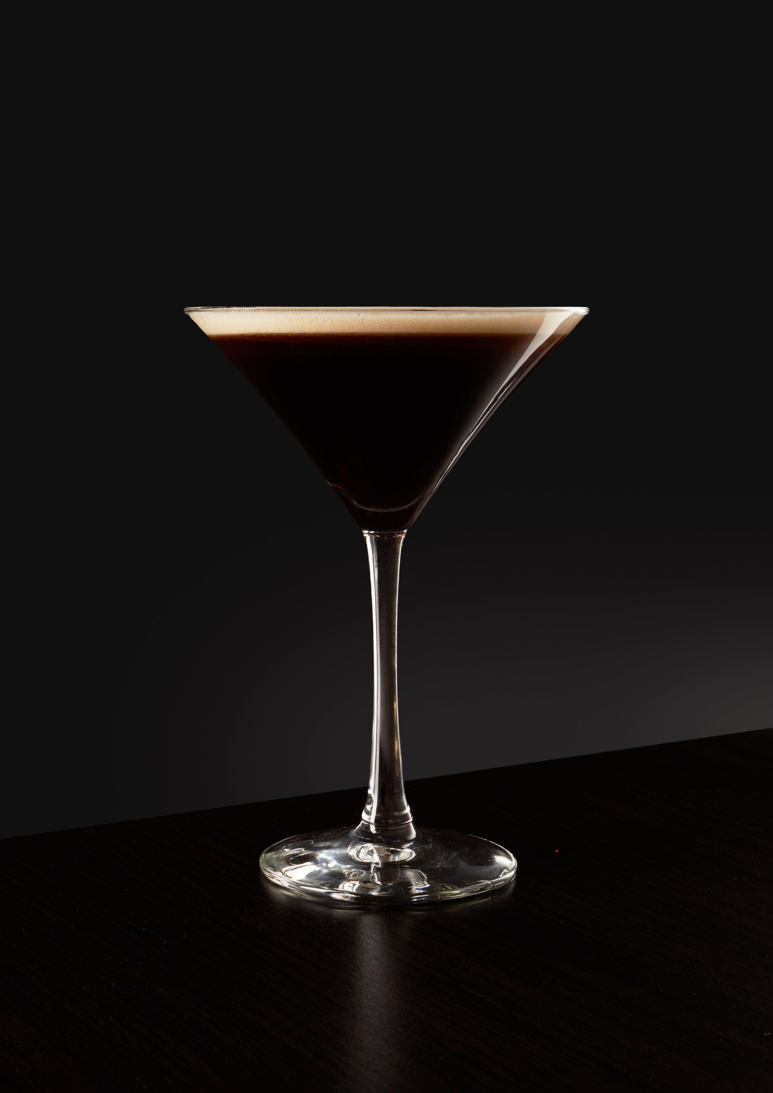 The Toasted Porter Martini