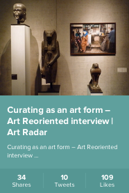 Curating as an art form