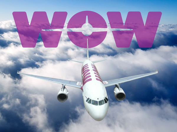 Wow Airlines - cheap flights from Boston and DC to Iceland, Dublin, or London.