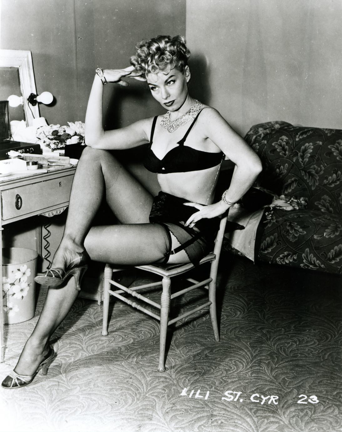 Lili St. Cyr, another old school burlesque icon that I absolutely adore.