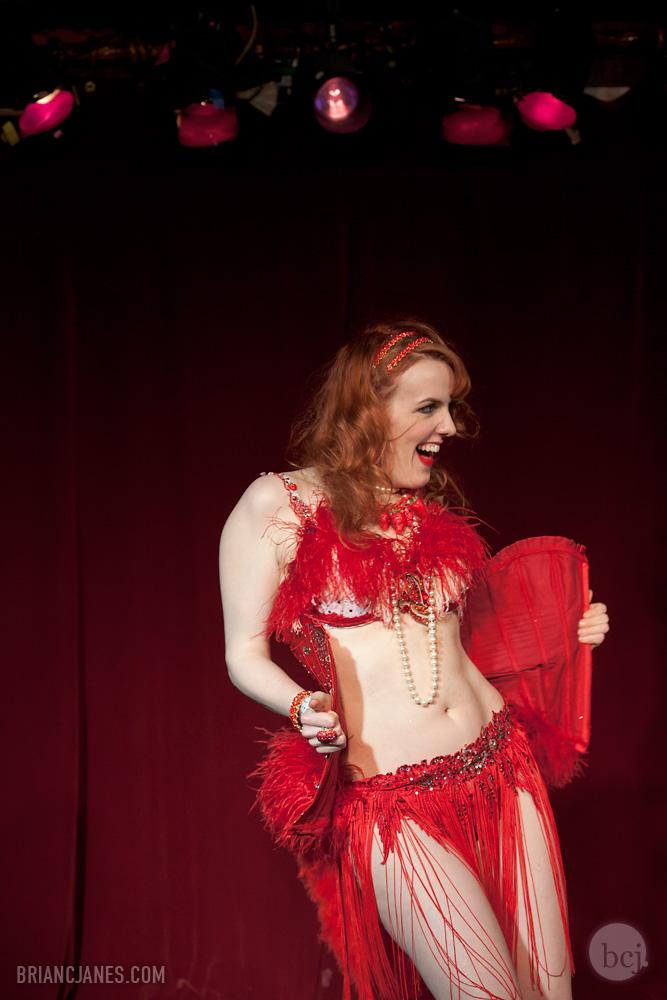 My teacher, the amazing Red Hot Annie.