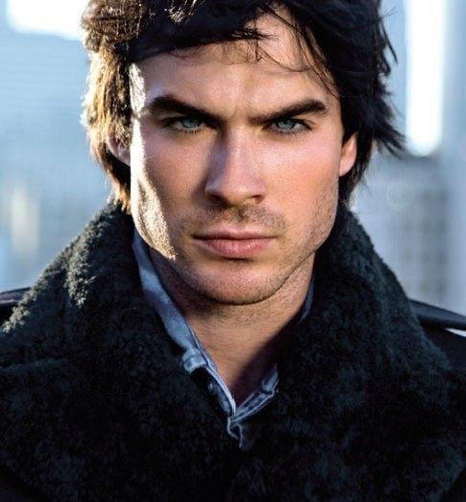 Artist's representation of Aidan. No, wait, it's Damon Salvatore from The Vampire Diaries.