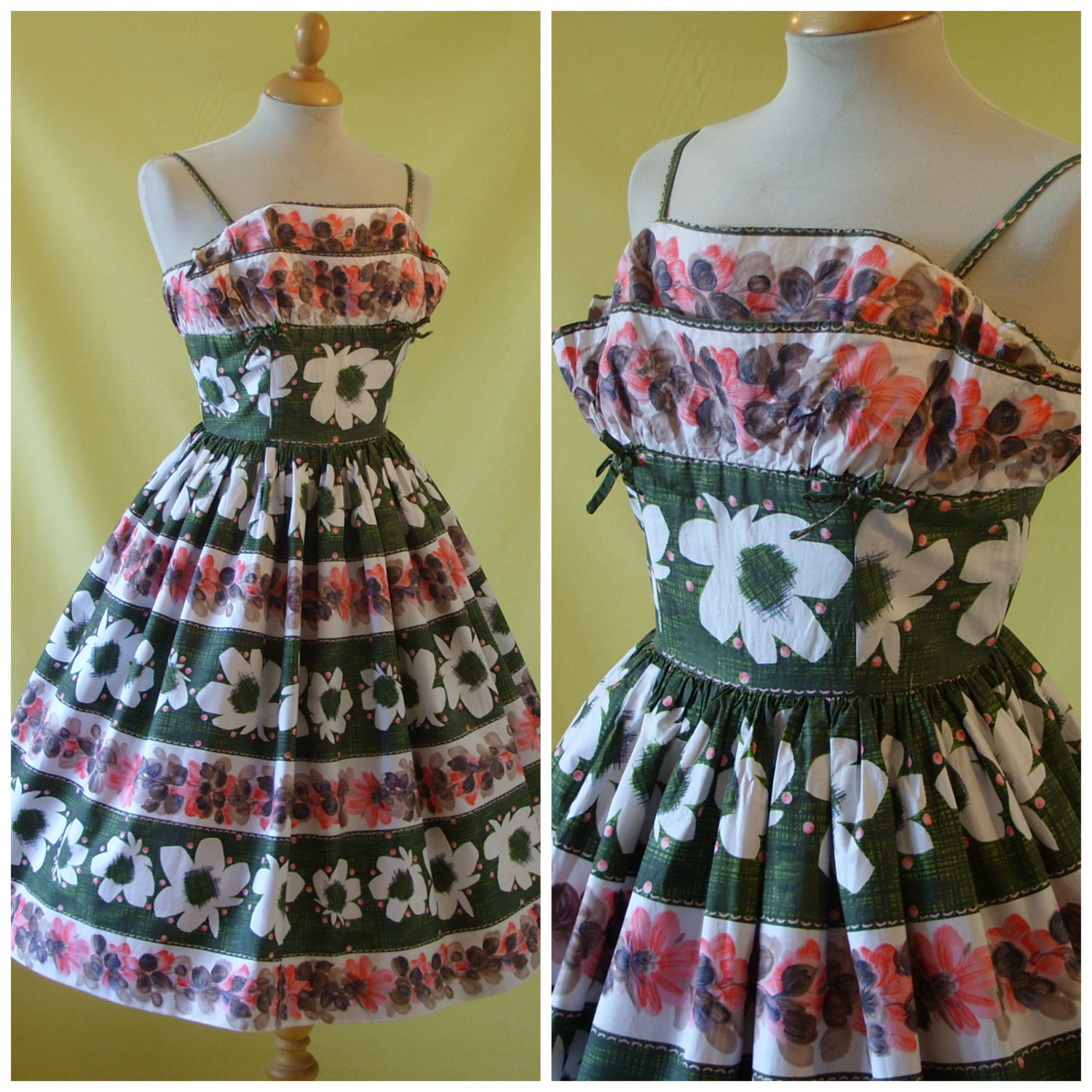 Another gorgeous Horrockses dress on Etsy