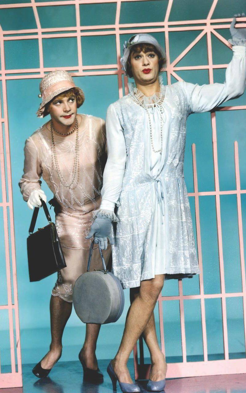 Kelly won the Oscar for  Some Like It Hot , not just for making Marilyn look good, but for doing the same for Tony Curtis and Jack Lemmon.