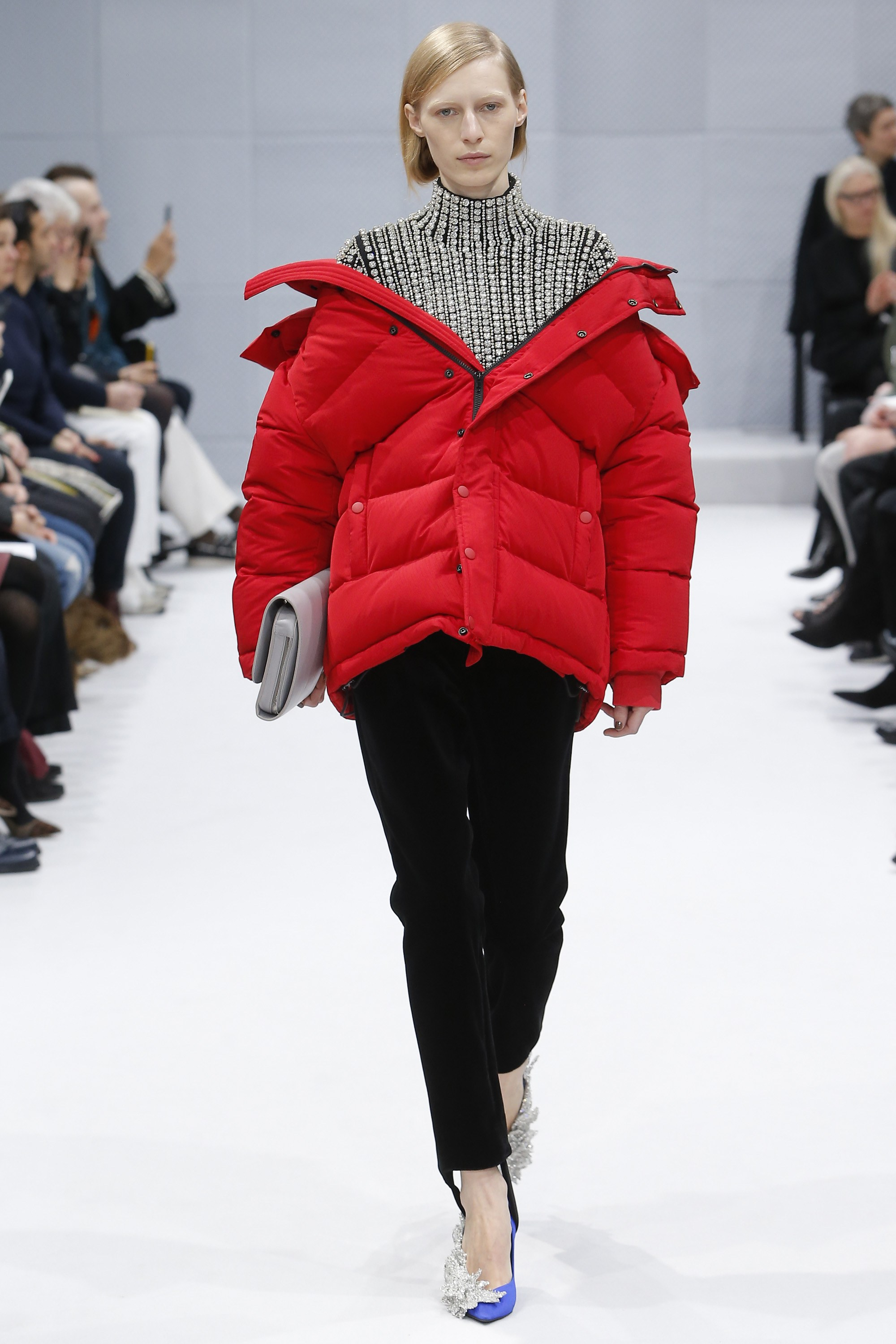 Fashion is for people who don't have to use their arms, apparently.