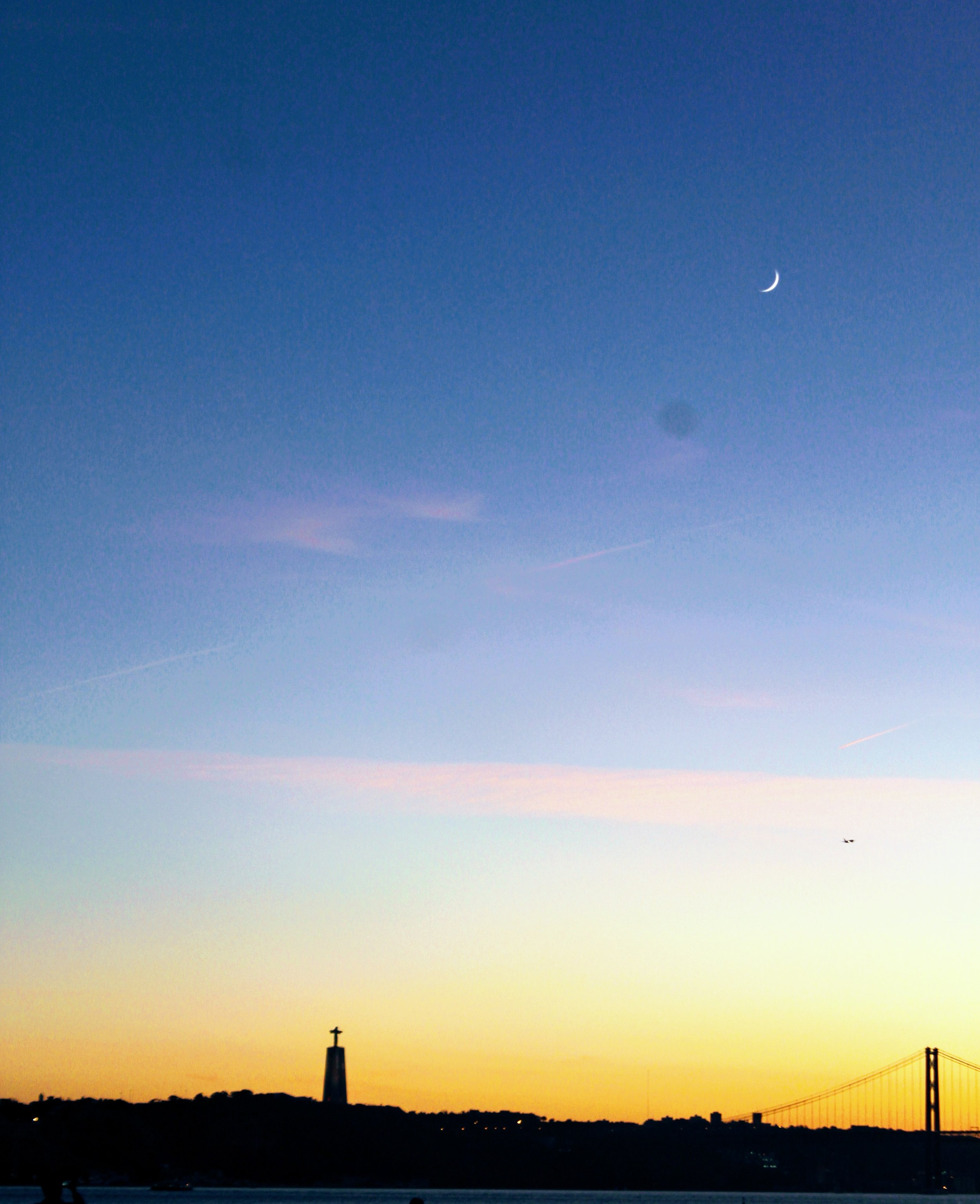 A Lisbon sunset.