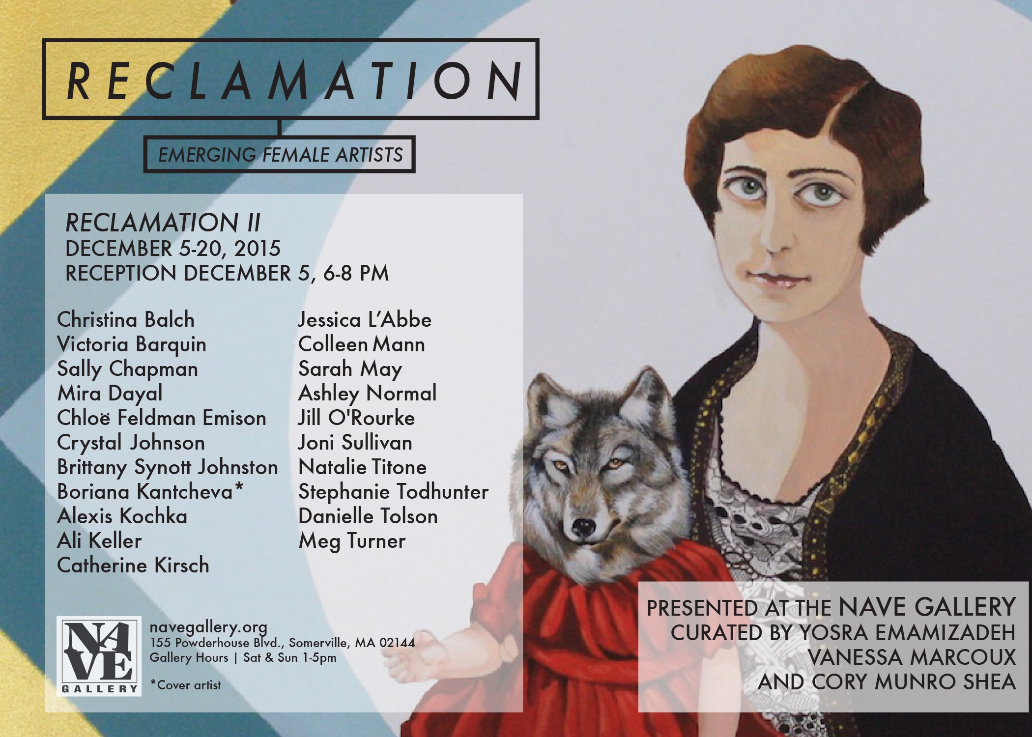 Flier Nave Gallery's put out for  Reclamation II