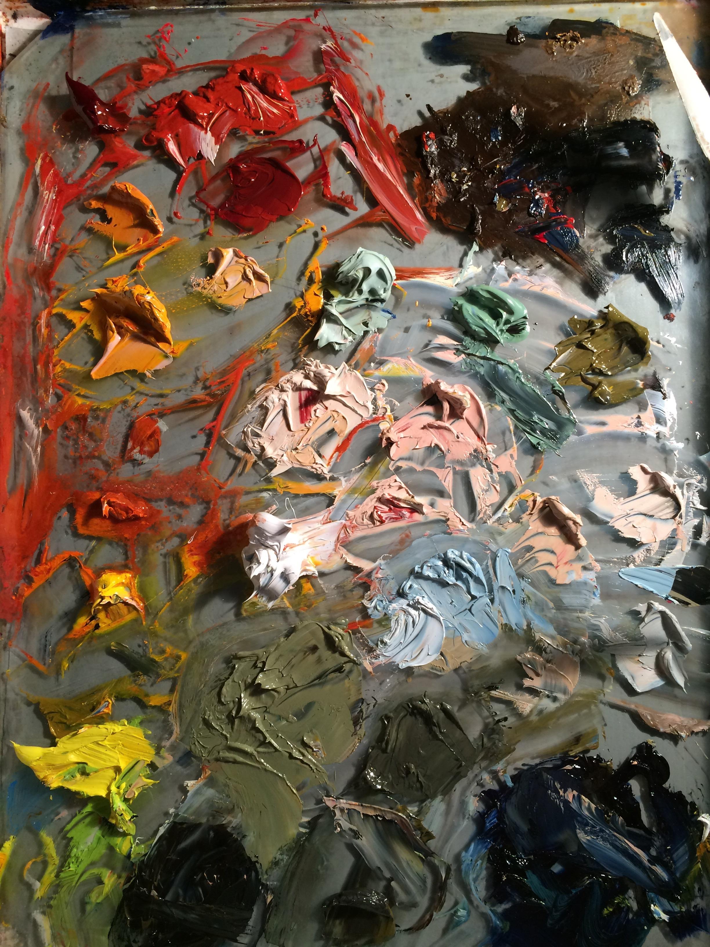 My palette rn