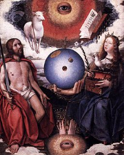 "Jan Provoost, ""Christian Allegory"" (c. 1510-1515)."