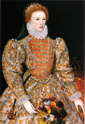 """Queen Elizabeth the Firstdidn't need nostinking husband to screw up her rule. The """" Darnely Portait """" of Elizabeth l of England, currently at the National Portrait Gallery in London."""