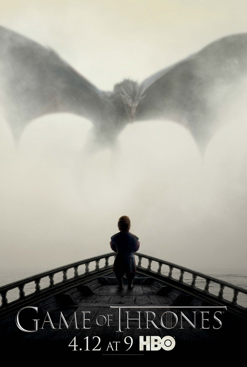 Game of Thrones season five promotional poster.  HBO.com  and  The Verge