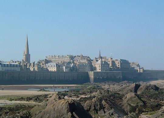 Saint Malo, France.  Photo : Antoine DECLERCK. CC BY SA 3.0