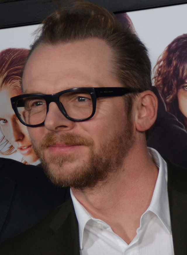 Simon Pegg, actor, screenwriter, and self-confessed fan of science fiction.