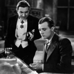 Betcha didn't notice that Star of David before.  Dracula  (1931).