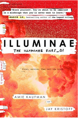 Illuminae - first in a series. Next can't come quick enough!
