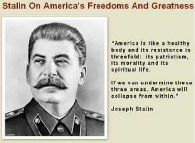 No, Stalin  most likely  didn't say that.