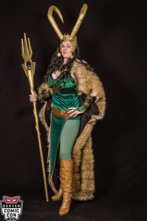 Lady Loki ( Denver Comic Con 2016 )