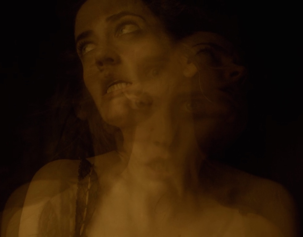 Mid-coitus with Dorian Gray, the Devil calls to Vanessa Ives and awakens her inner evil.