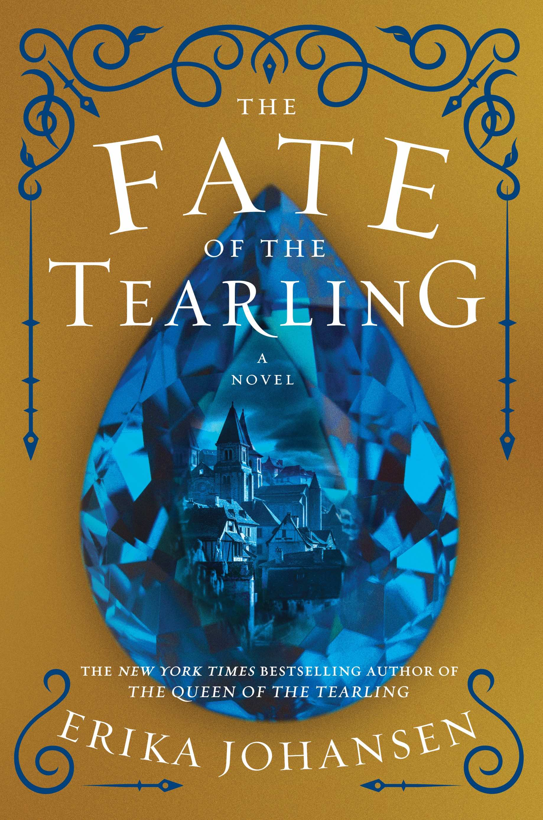 """The Fate of the Tearling,"" the third and final book of ""The Queen of the Tearling"" trilogy. Published by  HarperCollins , 2016."