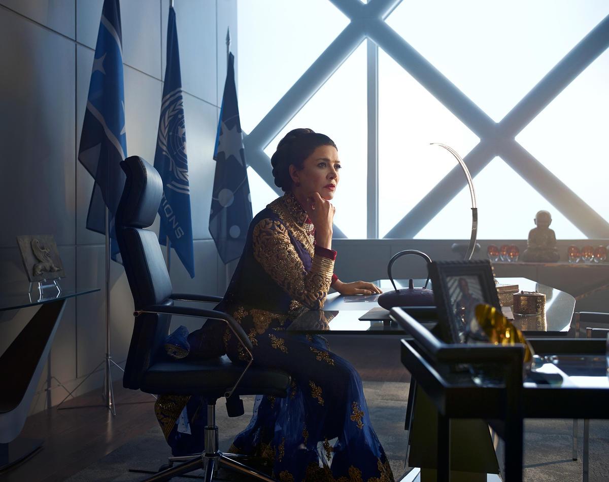 Shohreh Aghdashloo as UN Undersecretary Chrisjen Avasarala