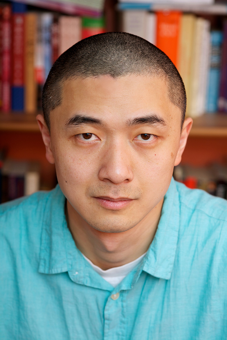 Ken Liu. Photo © Lisa Tang Liu.