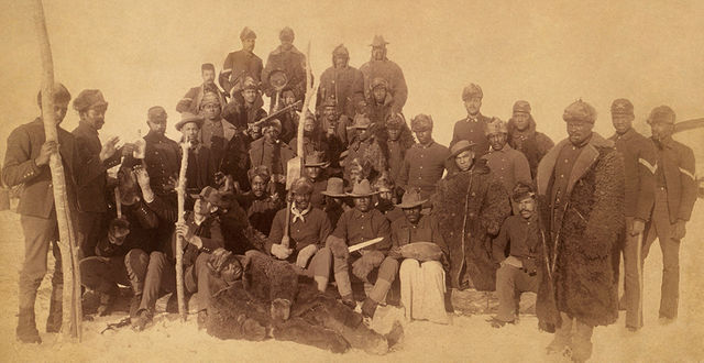 Buffalo Soldiers  of the 25th Infantry Regiment, 1890