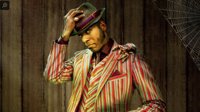Mr. Nancy, the Caribbean trickster god, is played by Orlando Jones.