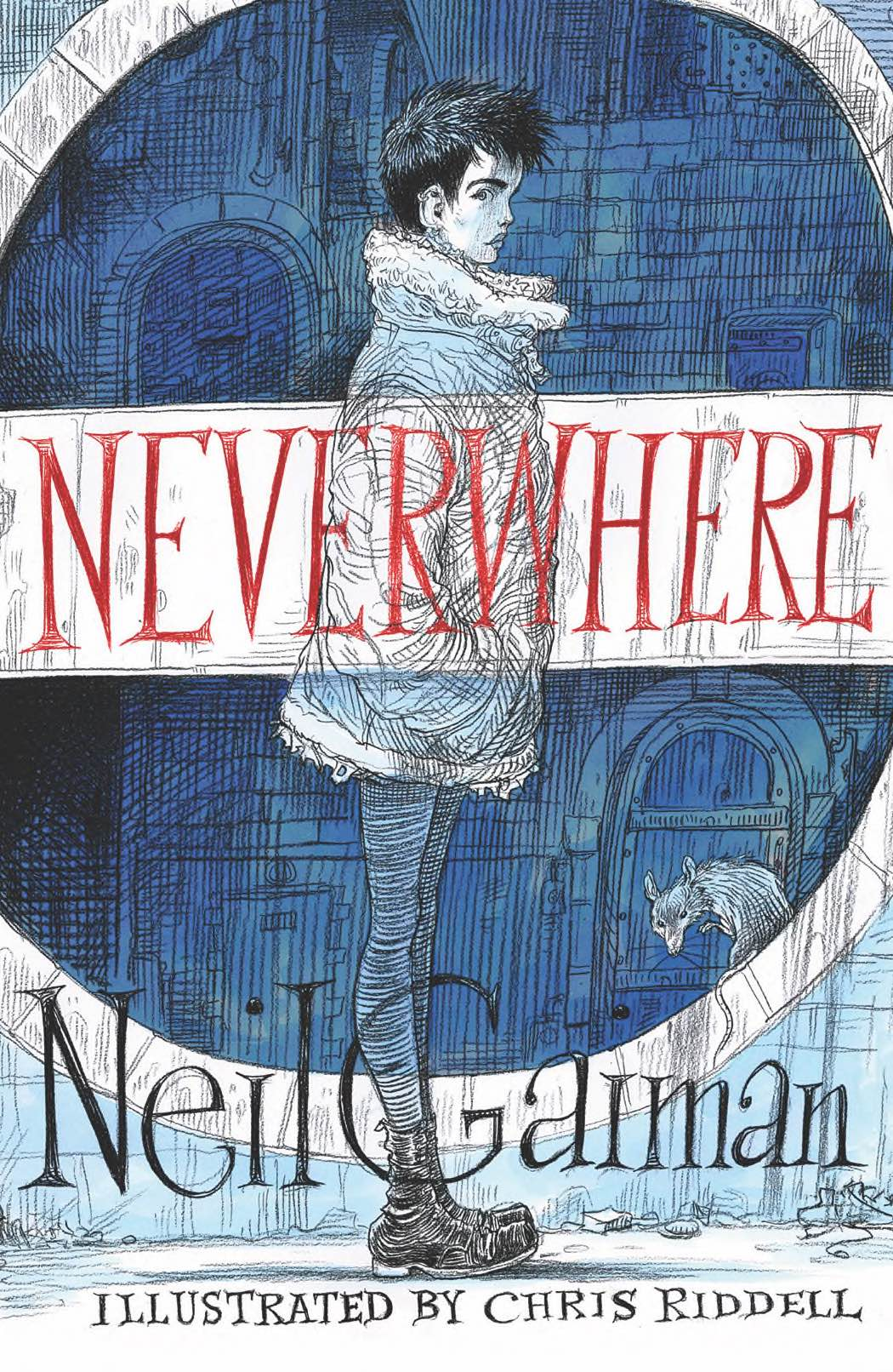 NEVERWHERE Illustrated - jacket image smallish.jpg