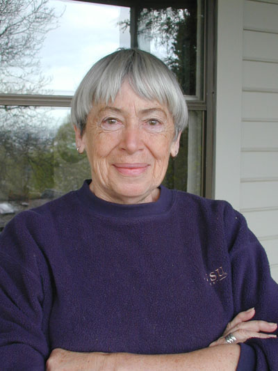 Ursula K. Le Guin. 21 October 1929 – 22 January 2018. Photo by Eileen Gunn.