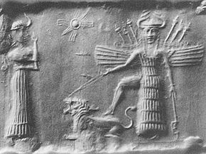 Inanna, goddess of heaven. Does not stay home, does not bake cookies, does not host teas.