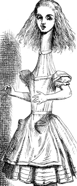Wishing can be tricky. (Tenniel, 1865) | Source:  Wikimedia Commons