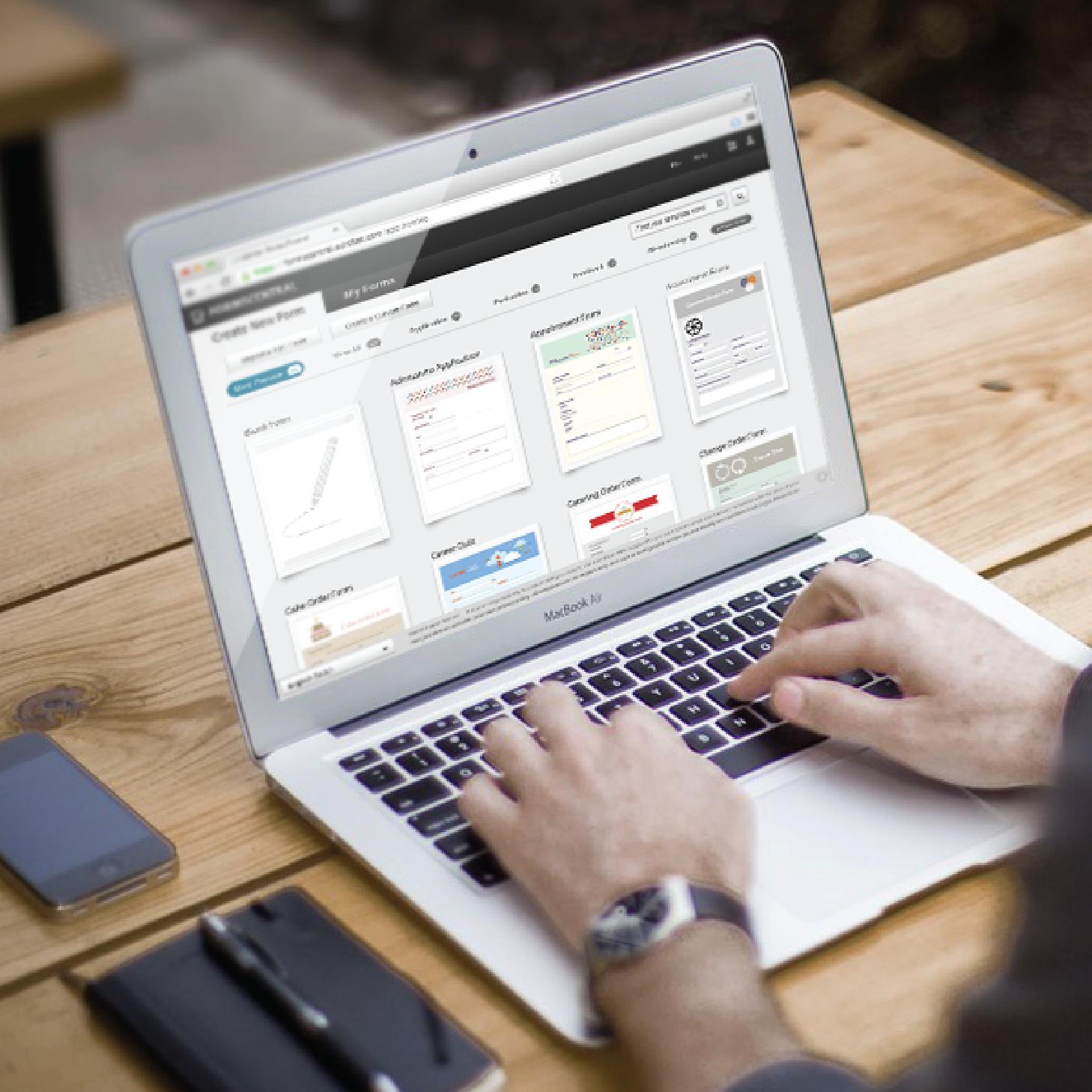 Adobe FormsCentral - Web App