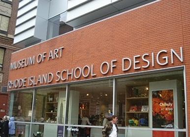 RISD: STUDENT ART 2ND FLOOR