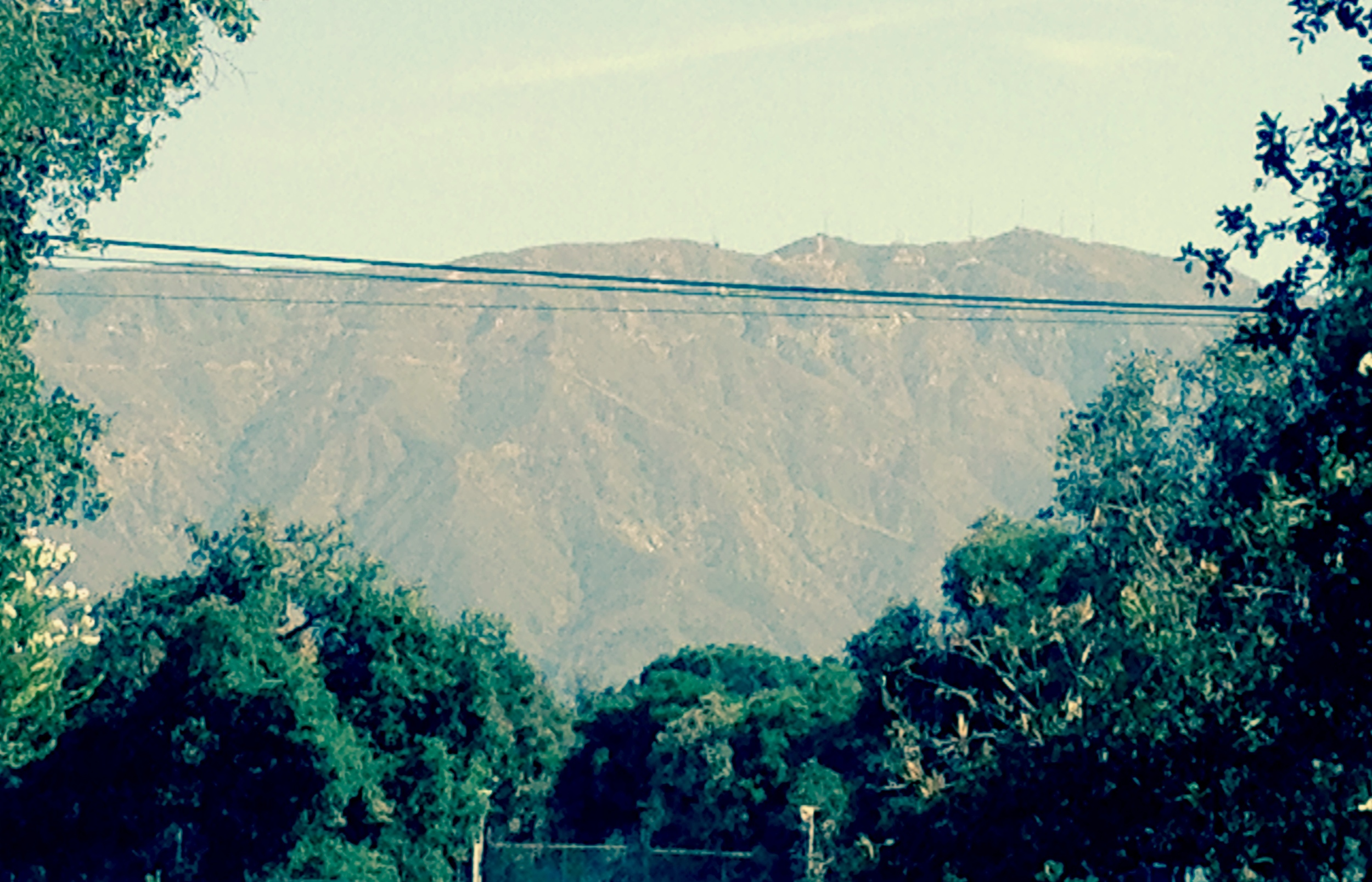 harvey mudd: view of the mountains