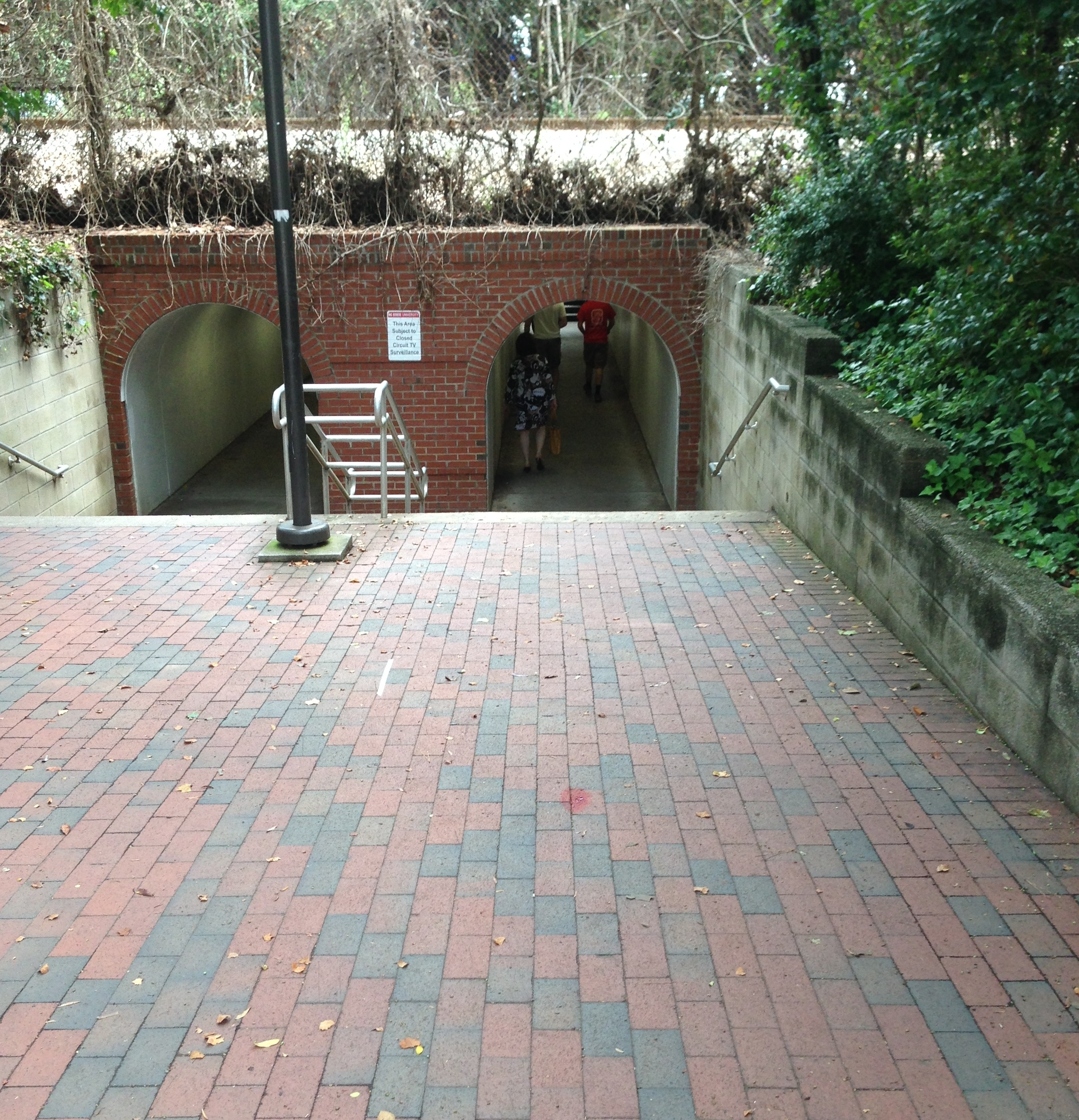 NC State: Tunnel between campuses
