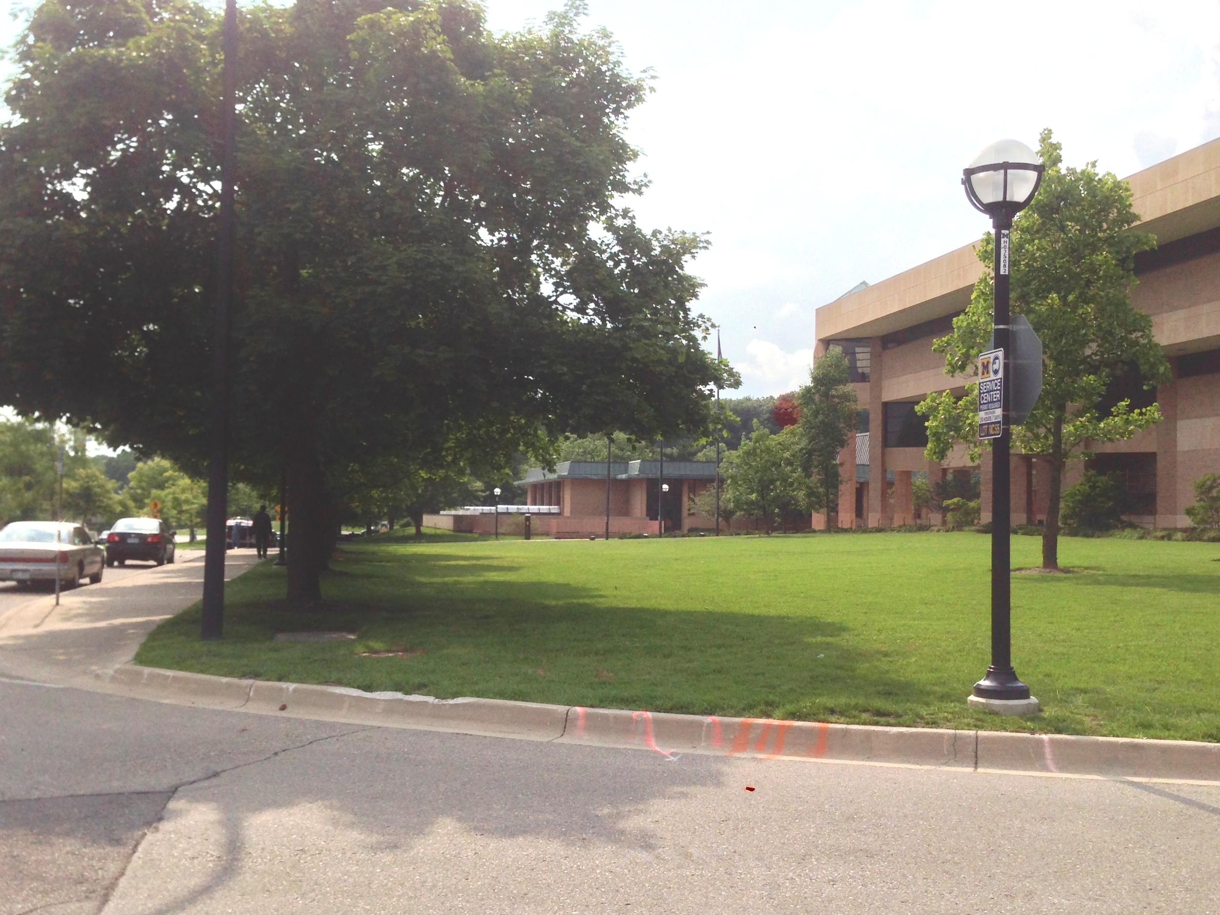Michigan's north campus