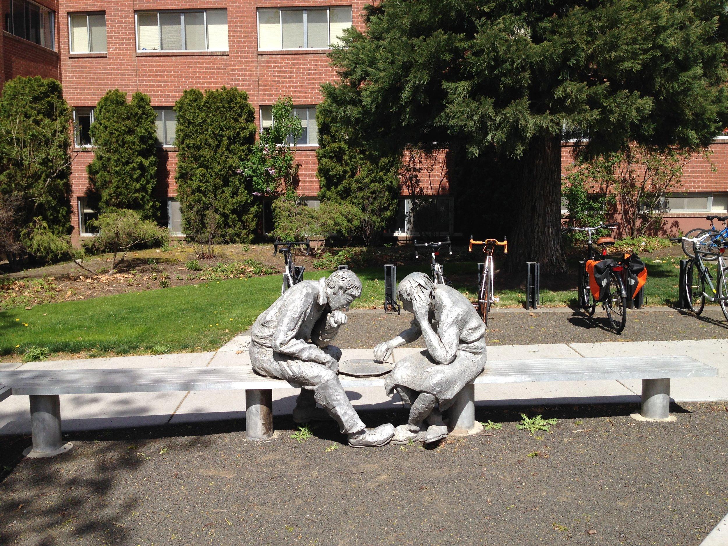 Whitman College art & residence hall