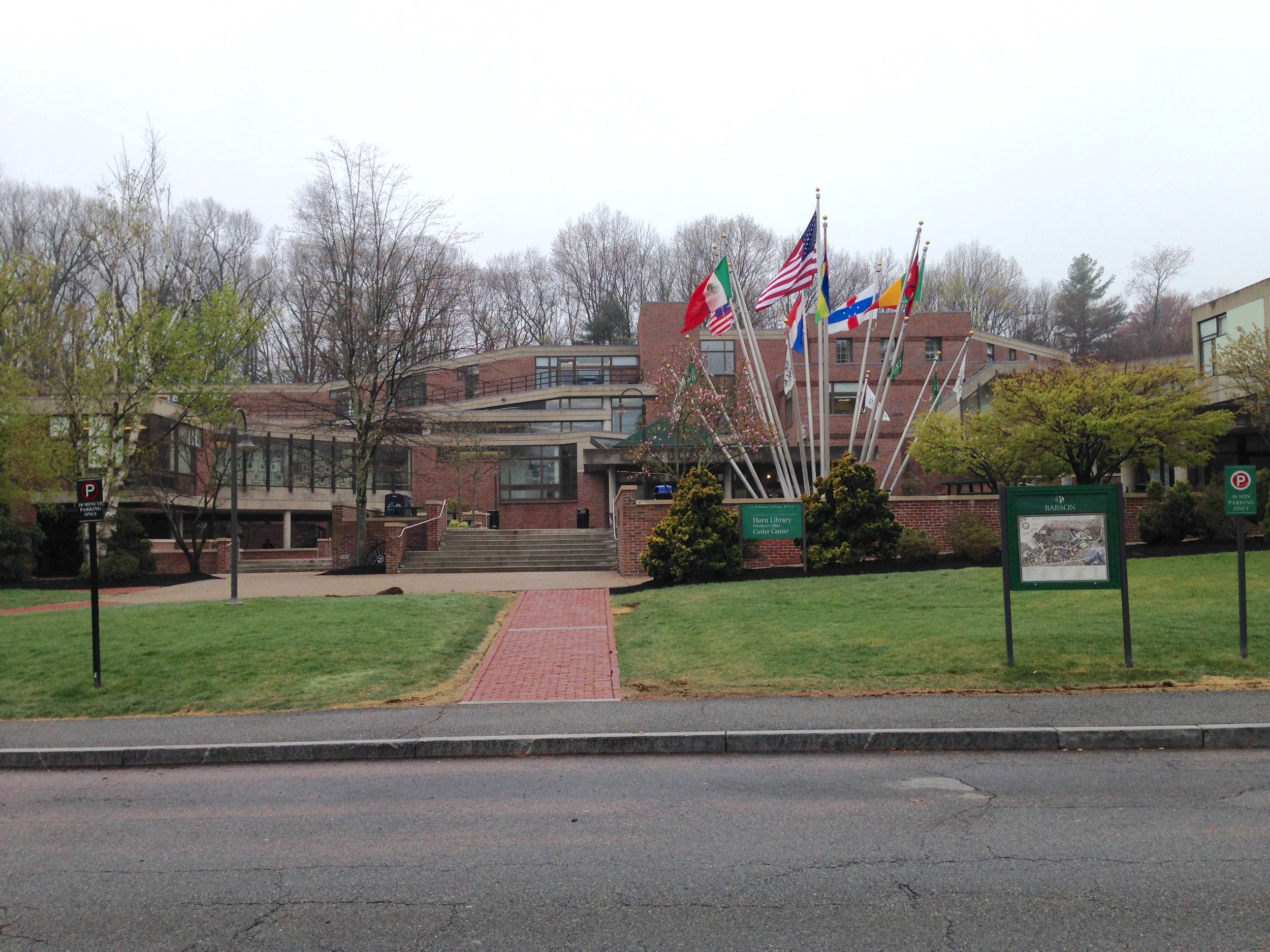 BABSON'S LIBRARY